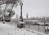 Fototapeta Londyn - Winter in London