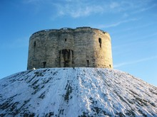 Cliffords Tower In York, England.