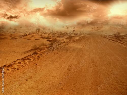 фотография Desert Road