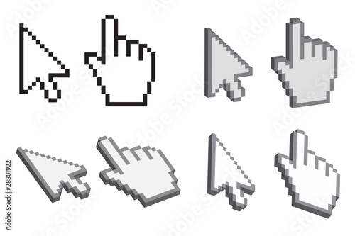 Photo  3D Desktop Cursors