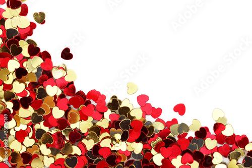 czerwoni-i-zlocisci-serce-confetti