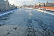 Ice on the Moskva River