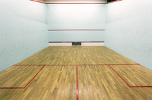 Squash Court Wall And Serve Boxes