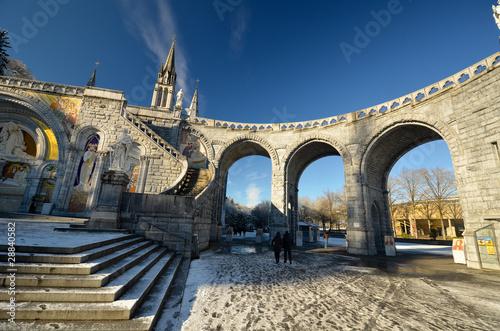 Fotomural Arches de la cathédrale de Lourdes