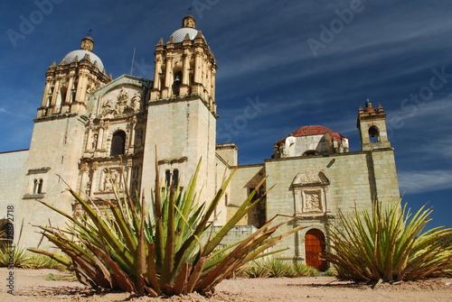 Fotobehang Mexico Templo de Santo Domingo de Guzmán, Oaxaca, Mexico