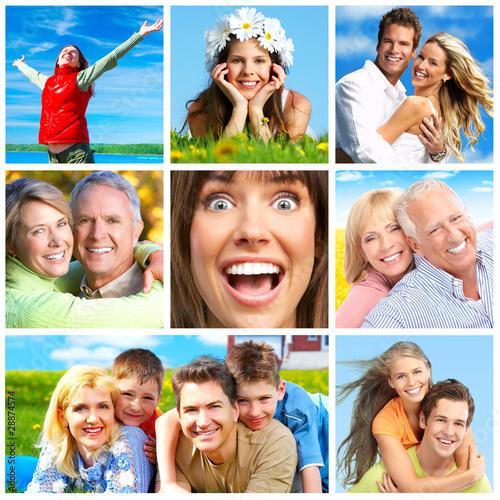 Happy people #28874574