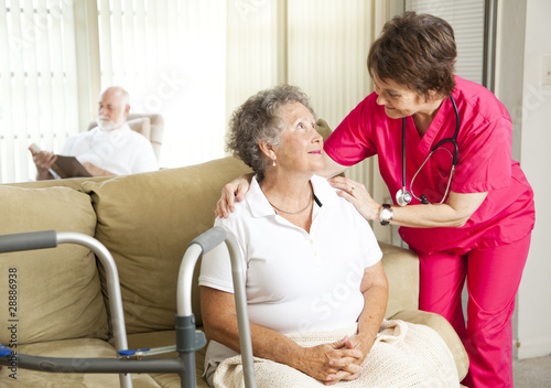 Fotografia  Nursing Home Care