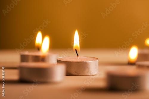 Obraz Światło świec  - fototapety do salonu