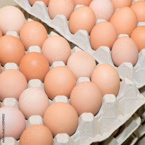 Photo  Eier, Hühnereier, Grundnahrungsmittel, Ostern naht!