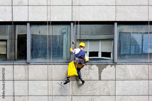 Fotografie, Obraz  Windows cleaner