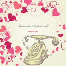 Romantic Telephone Call