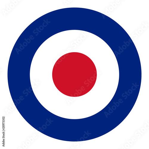 Obraz na plátně RAF flag
