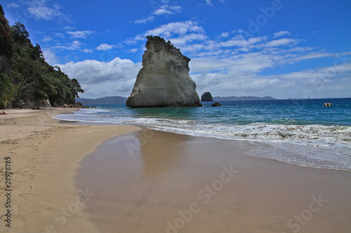 Foto op Canvas Cathedral Cove Stunning beach