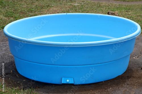 Fotografie, Obraz  petite piscine en plastique
