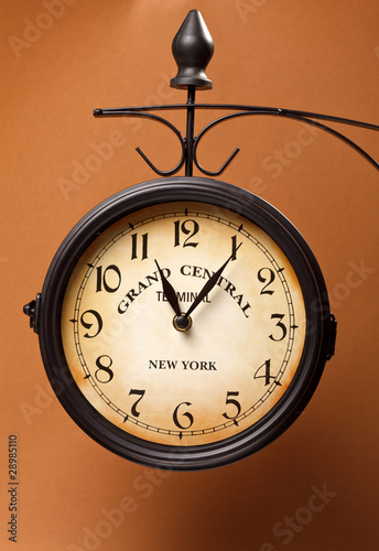 Photo clock of grand central station