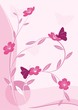 floral decor in pink
