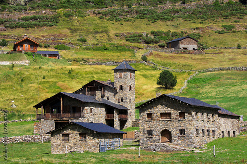 Photo Typical village in Andorra, Vall d'Incles