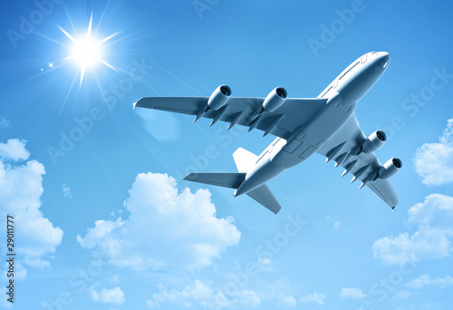 airplane Canvas Print