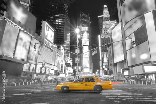 Montage in der Fensternische New York TAXI Taxi in New York