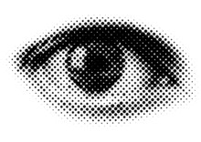 Vector Dots Eye