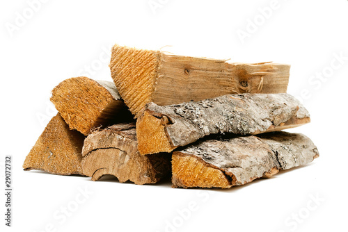 logs, fire wood Poster