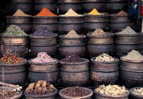 Photo Stands Morocco Spices