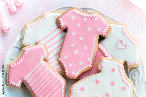 Recess Fitting Cookies Babyshower cookies