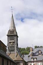 France, Normandie, Honfleur, Clocher De L'église