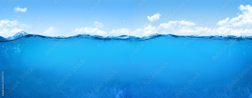 Fototapeta underwater scene