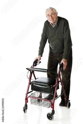 Photo  Senior-Walker Stroll