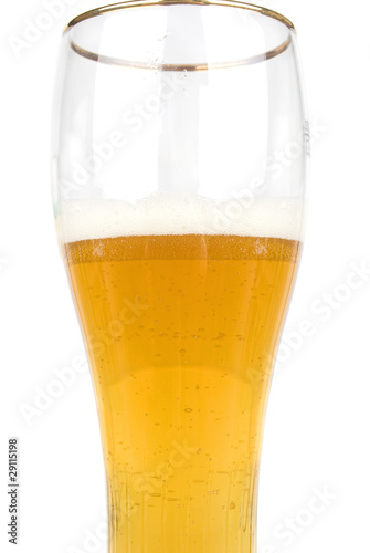 Light beer glass Wallpaper Mural