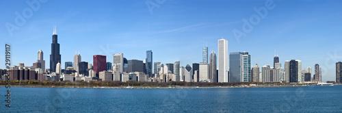 Chicago - Panoramic view from Lake Michigan