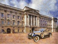 Vintage Car Art Collection