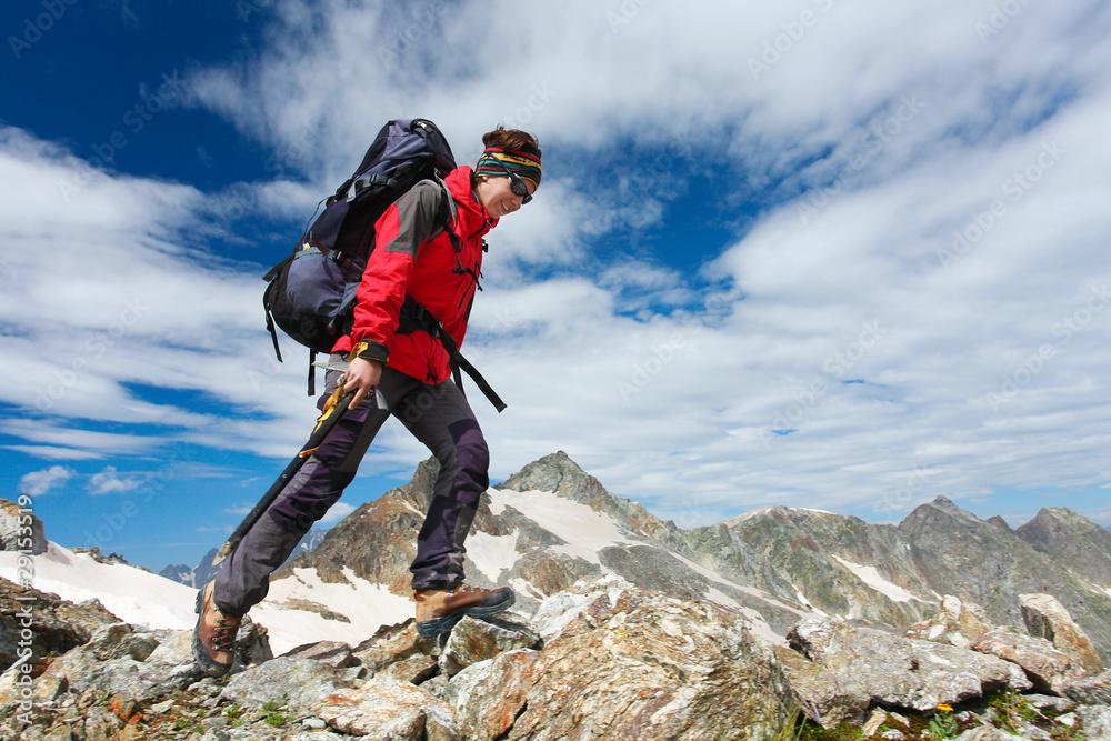 Fototapety, obrazy: Hiking