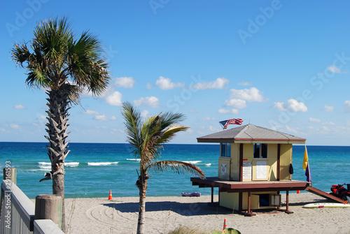 Photo  Hollywood Florida Beach View