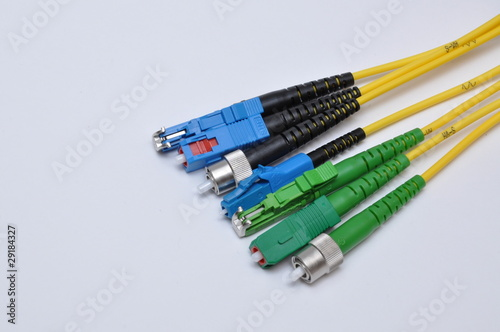 Photo  Optic connector cable