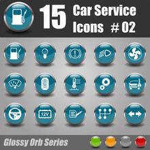 Car Service Icons #02