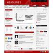 Web Website Design Element