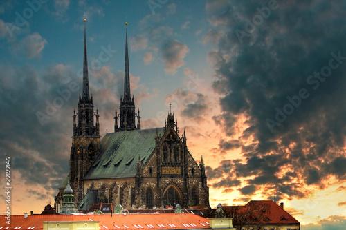Photo  Cathedral Petrov - Brno