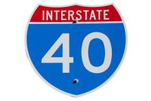 American Interstate I-40 Sign ...