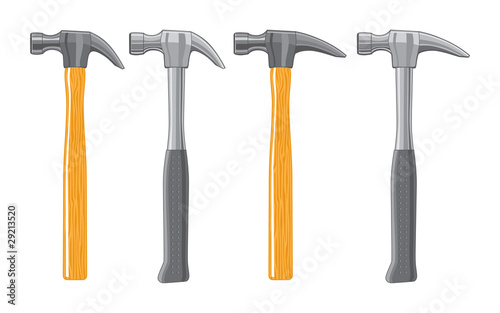Stampa su Tela Claw Hammers