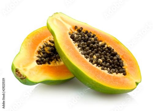 Poster Fruit papaya