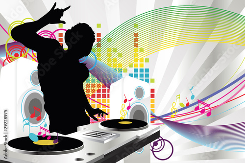 Photo  DJ music