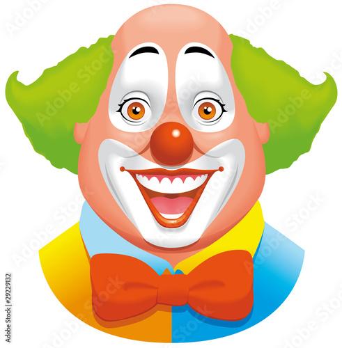 Foto-Stoff - Clown (von carbouval)