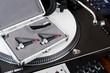Professional equipment of a DJ