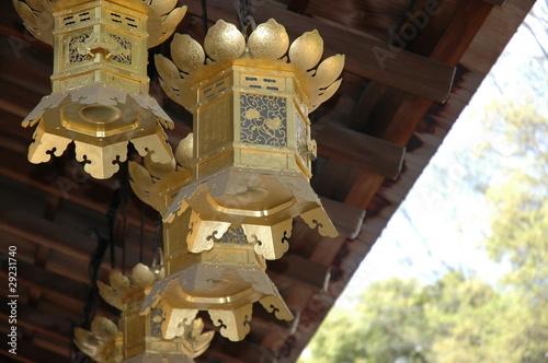 Golden Lantern in Kyoto, Japan #29231740