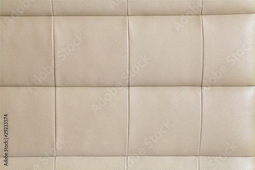 Foto op Aluminium Leder Leder beige
