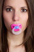 Pacifier Woman