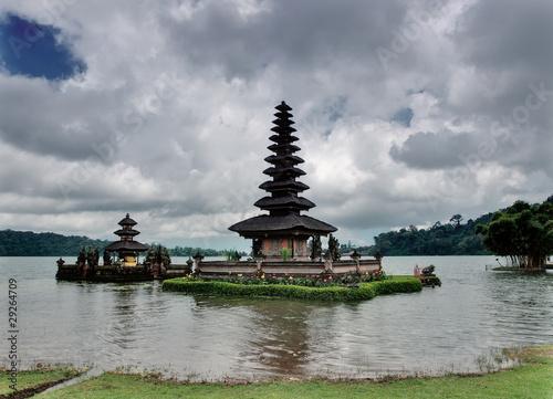 Tuinposter Bali Balinese water temple