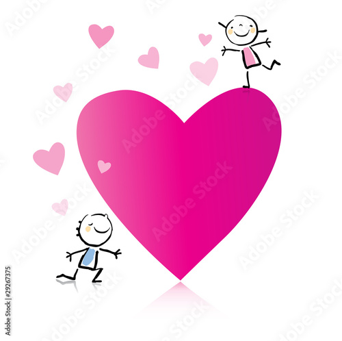 Valentine S Day Romantic Couple Cartoon Buy This Stock Vector And